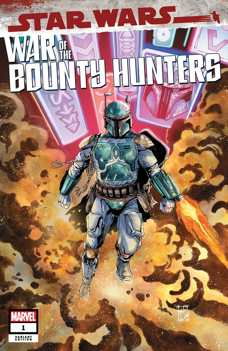 Star Wars: War of the Bounty Hunters 1 - Unknown Comics Variant