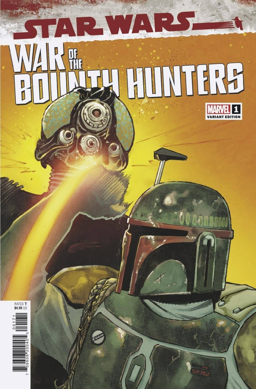 Star Wars: War of the Bounty Hunters 1 - Pichelli Variant