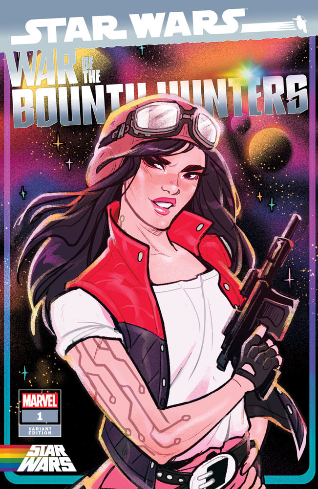 Star Wars: War of the Bounty Hunters 1 - Pride Variant (Babs Tarr)