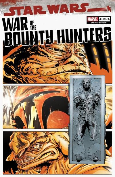 Star Wars: War of the Bounty Hunters Alpha - Comic Mint Variant