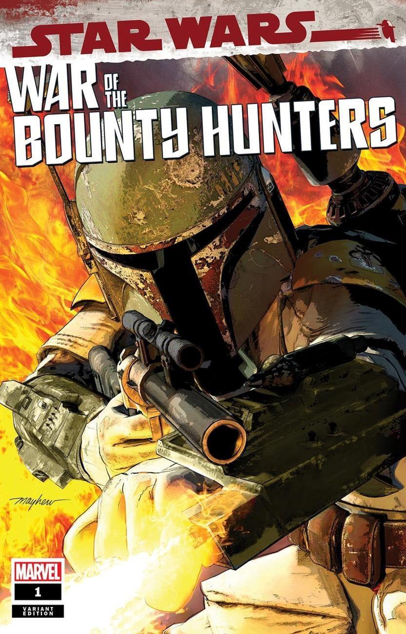Star Wars: War of the Bounty Hunters 1 - Mike Mayhew Studios Variant