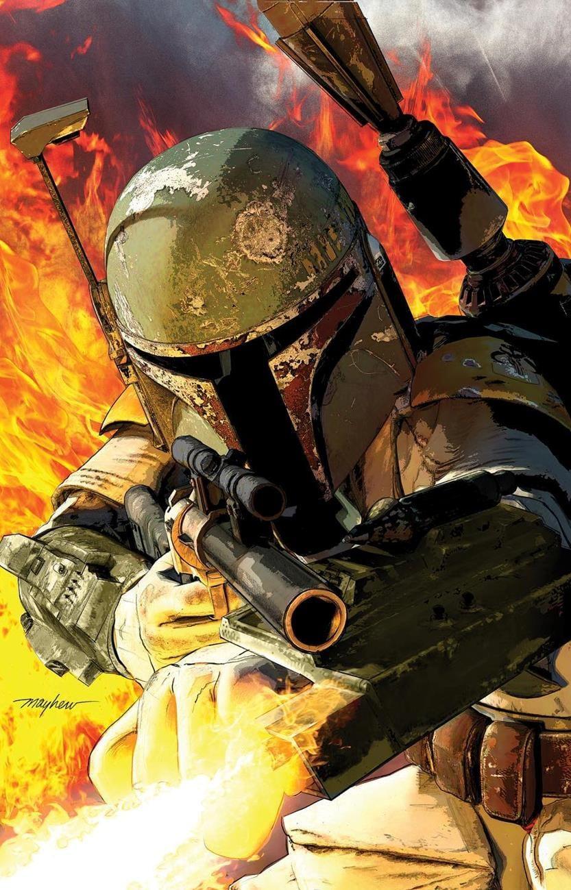 Star Wars: War of the Bounty Hunters 1 - Mike Mayhew Studios Virgin Variant