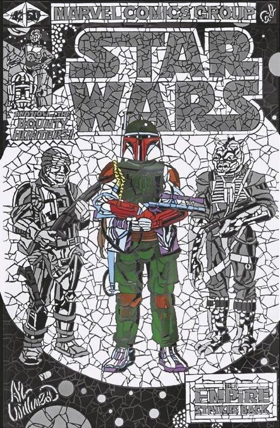 Star Wars: War of the Bounty Hunters 1 - Elite Comics Virgin Variant