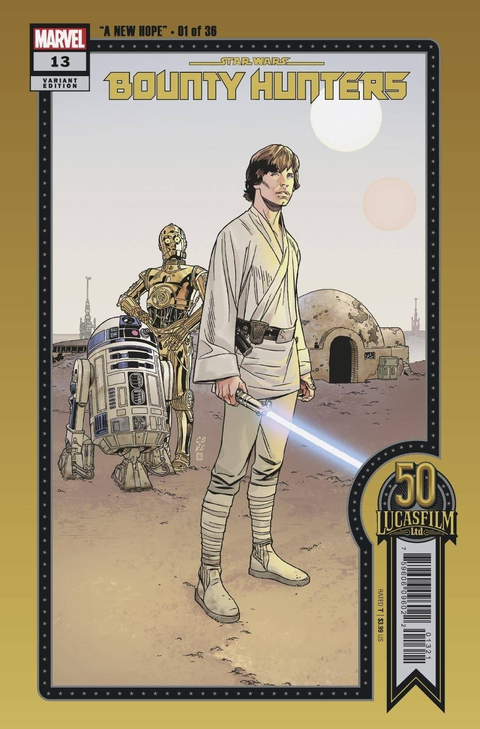 Star Wars: Bounty Hunters 13 - Sprouse Variant