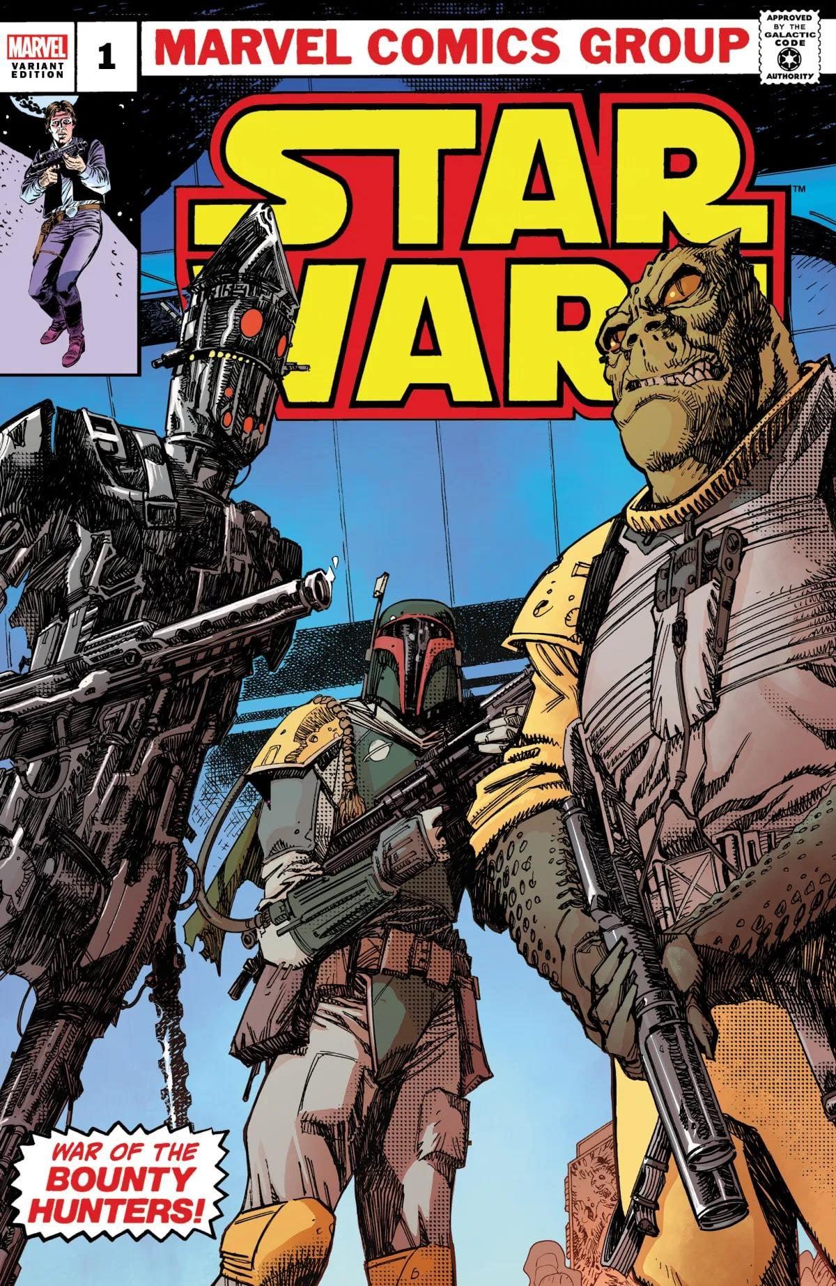 Star Wars: War of the Bounty Hunters 1 - Ultimate Comics Variant