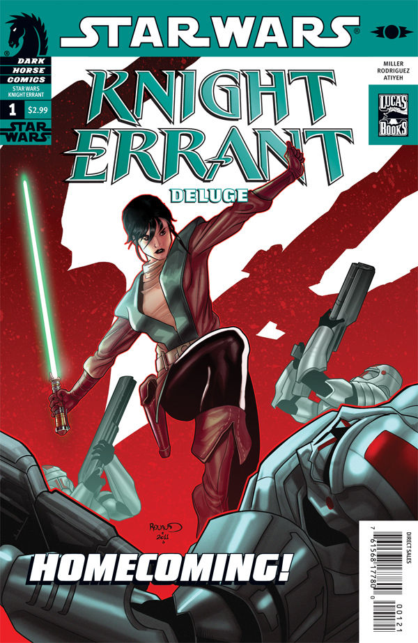 Star Wars Knight Errant: Deluge 1 (Variant Cover)