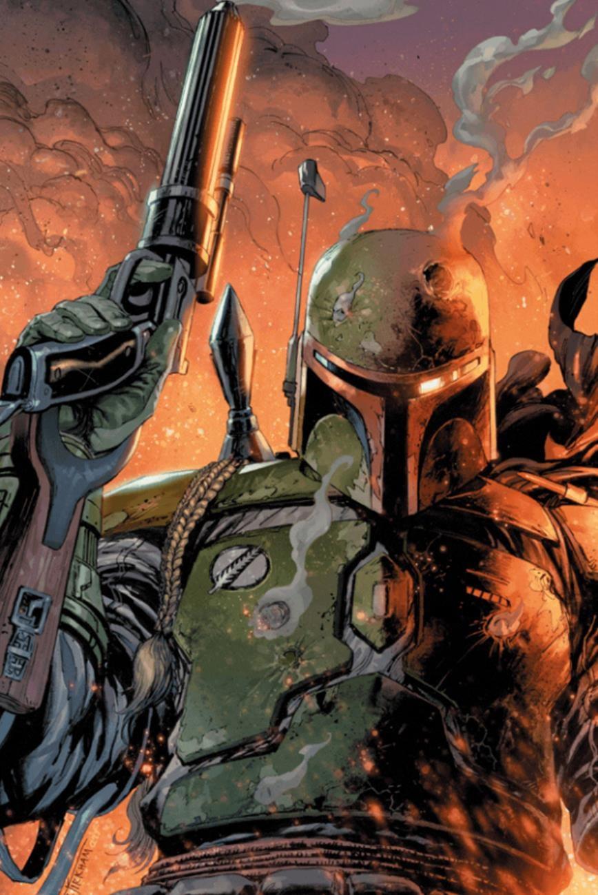 Star Wars: War of the Bounty Hunters 1 - Frankie's Comics Virgin Variant