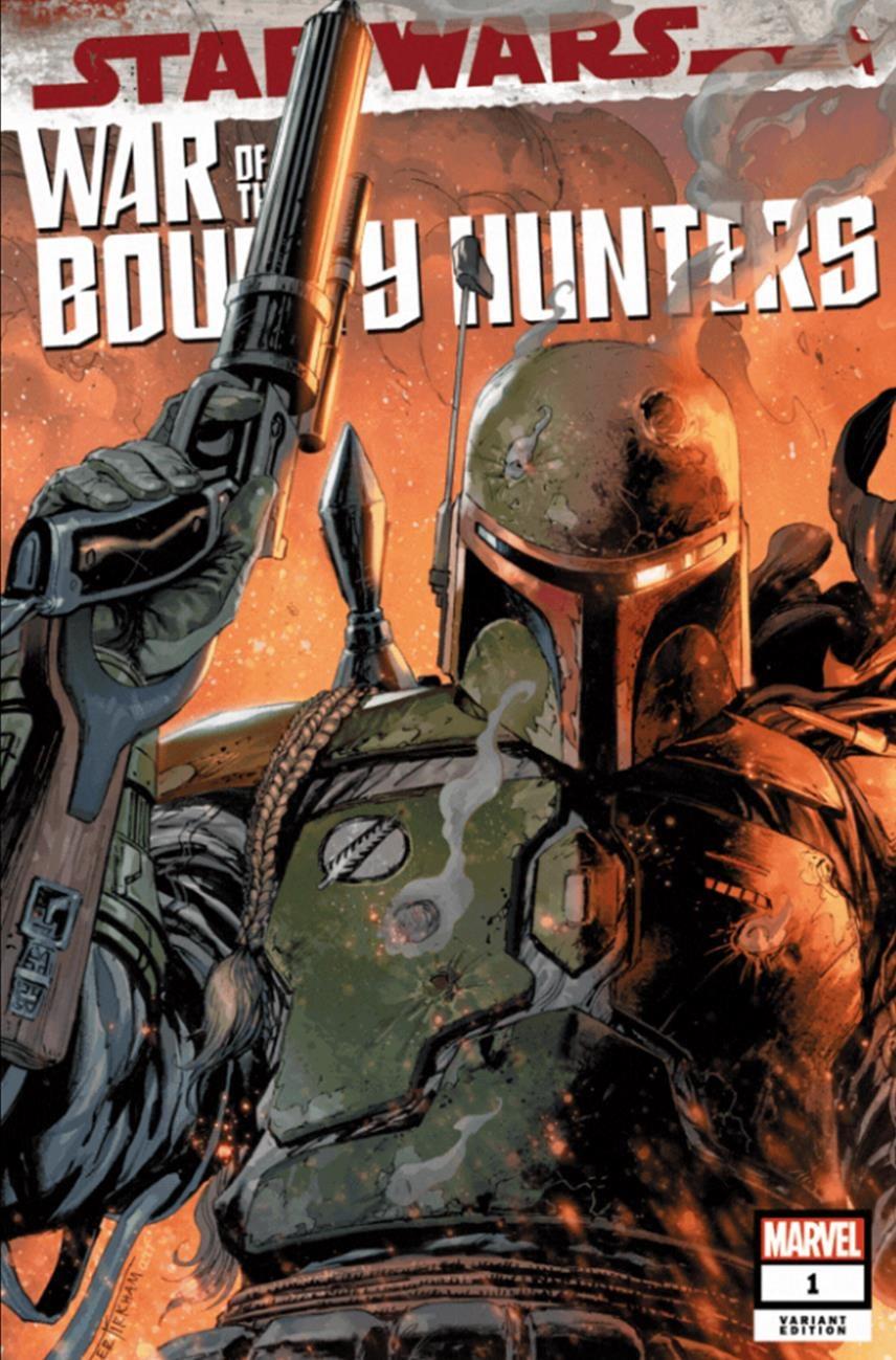 Star Wars: War of the Bounty Hunters 1 - Frankie's Comics Variant