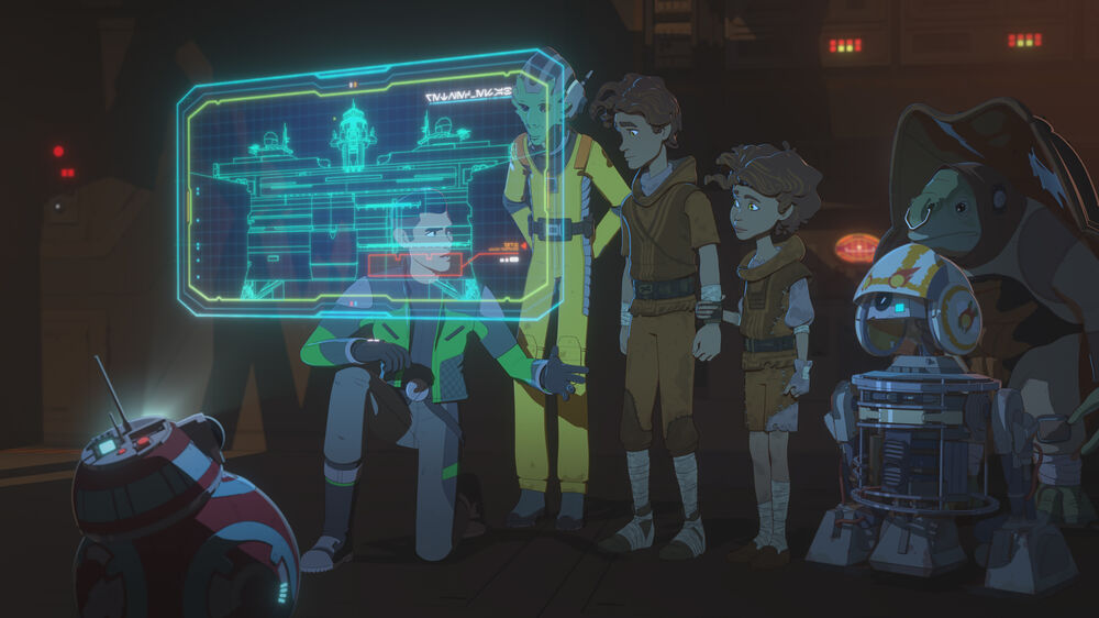 Star Wars Resistance: No Exit, Part 1