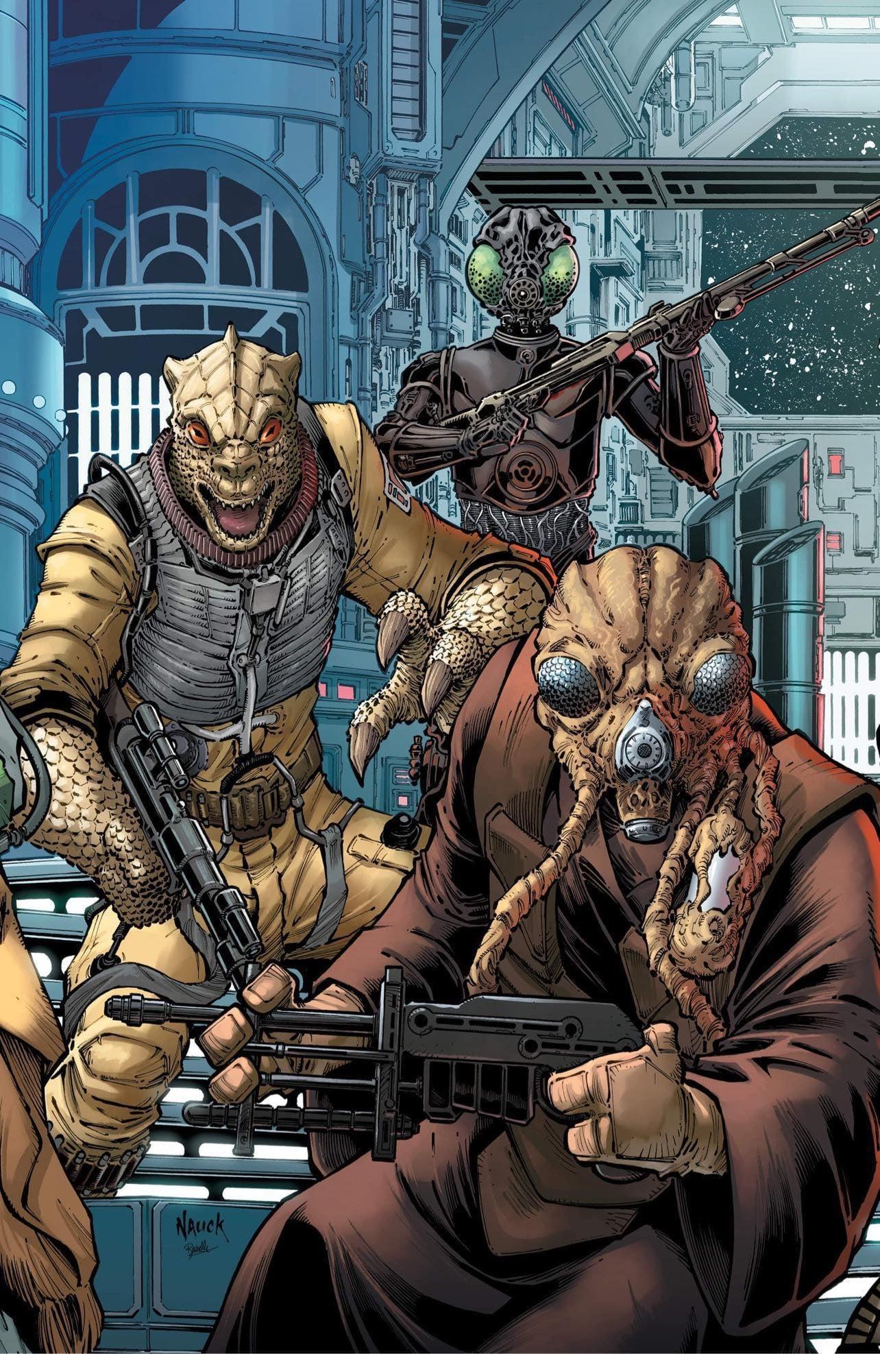 Star Wars: War of the Bounty Hunters 1 - Comics Elite Virgin Variant