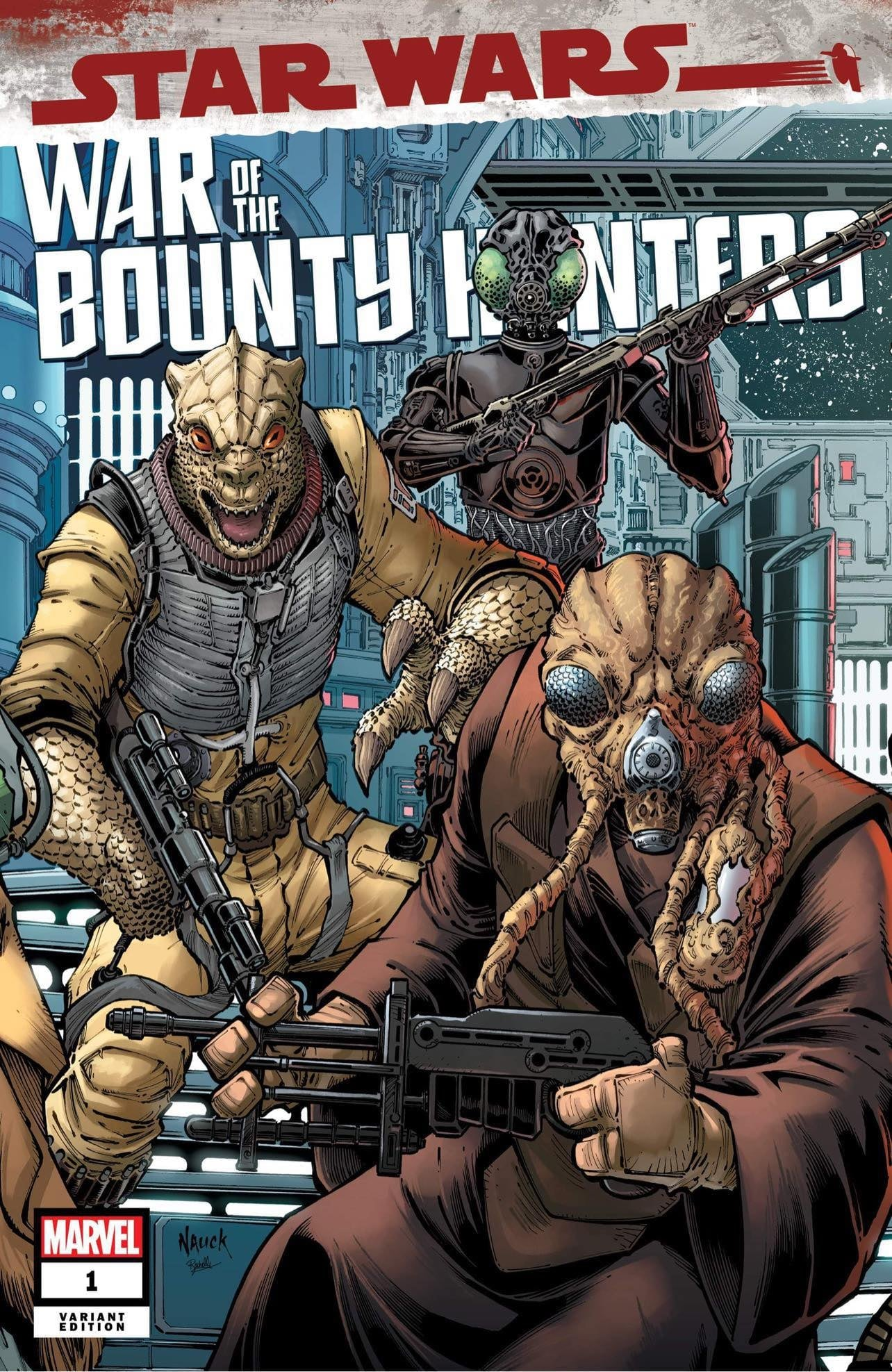 Star Wars: War of the Bounty Hunters 1 - Comics Elite Variant