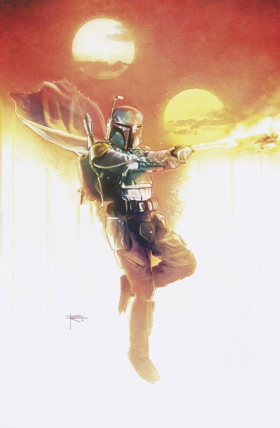 Star Wars: War of the Bounty Hunters 1 - Rupp Comics Virgin Variant