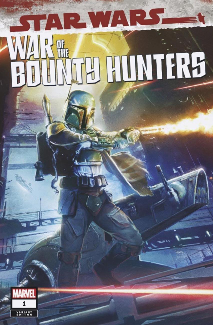 Star Wars: War of the Bounty Hunters 1 - Rupp Comics Variant