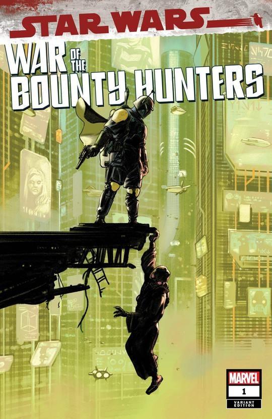 Star Wars: War of the Bounty Hunters 1 - Sunset Comics Variant