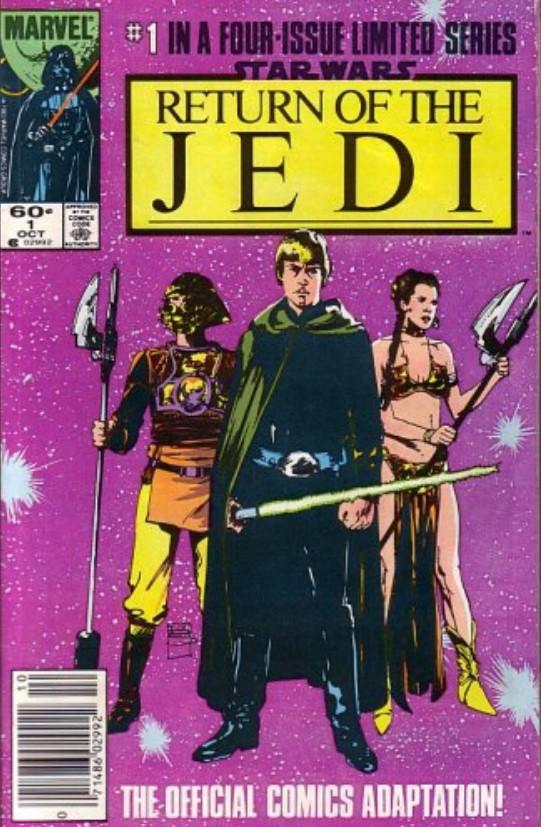 Star Wars Return of the Jedi 1 (Marvel)