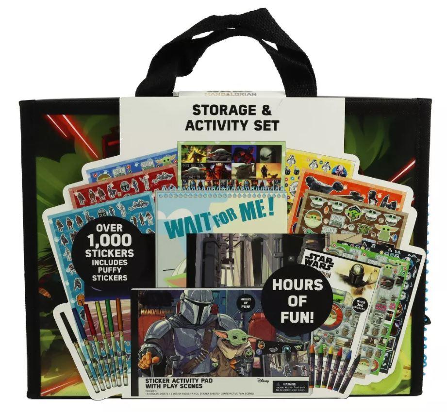 The Mandalorian Craft Storage and Activity Set