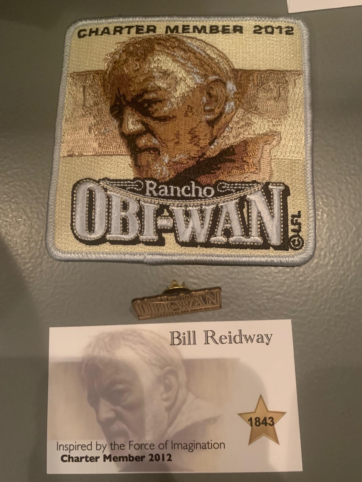Rancho Obi-Wan Membership Package 2012