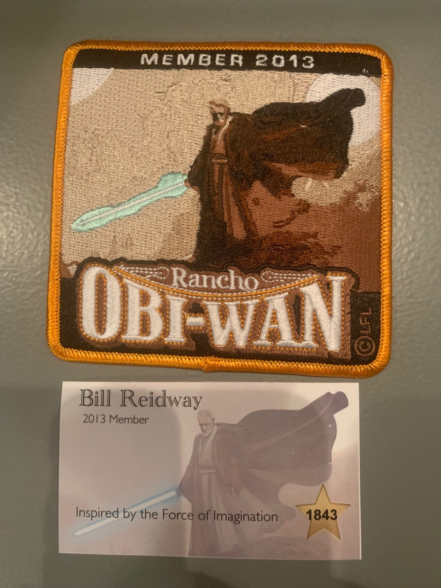 Rancho Obi-Wan Membership Package 2013