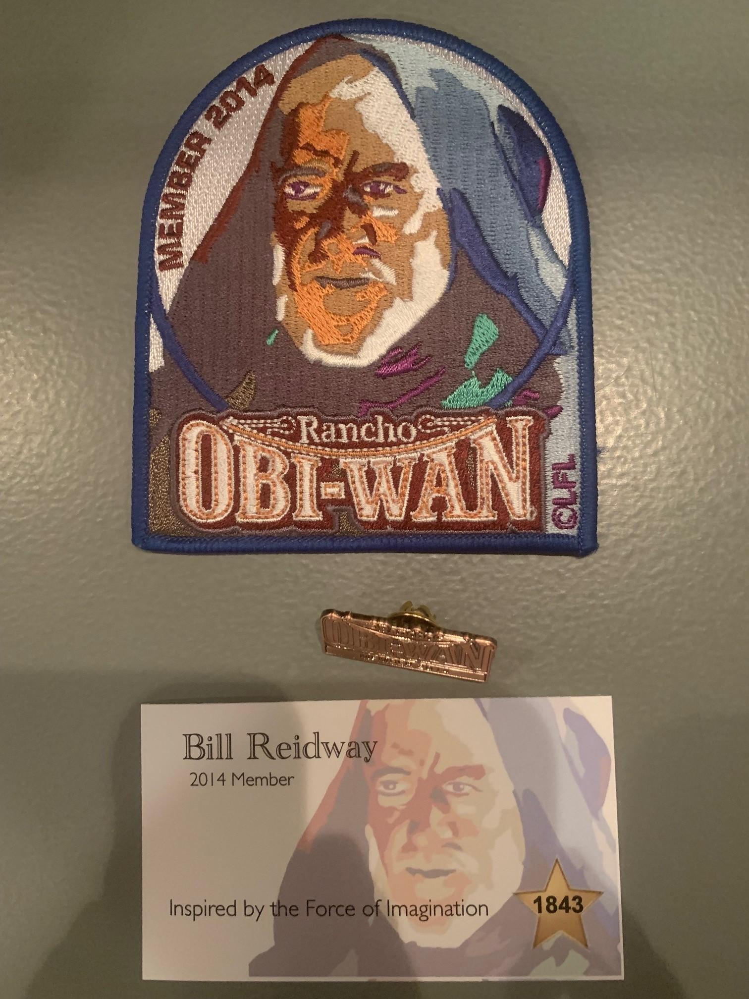 Rancho Obi-Wan Membership Package 2014
