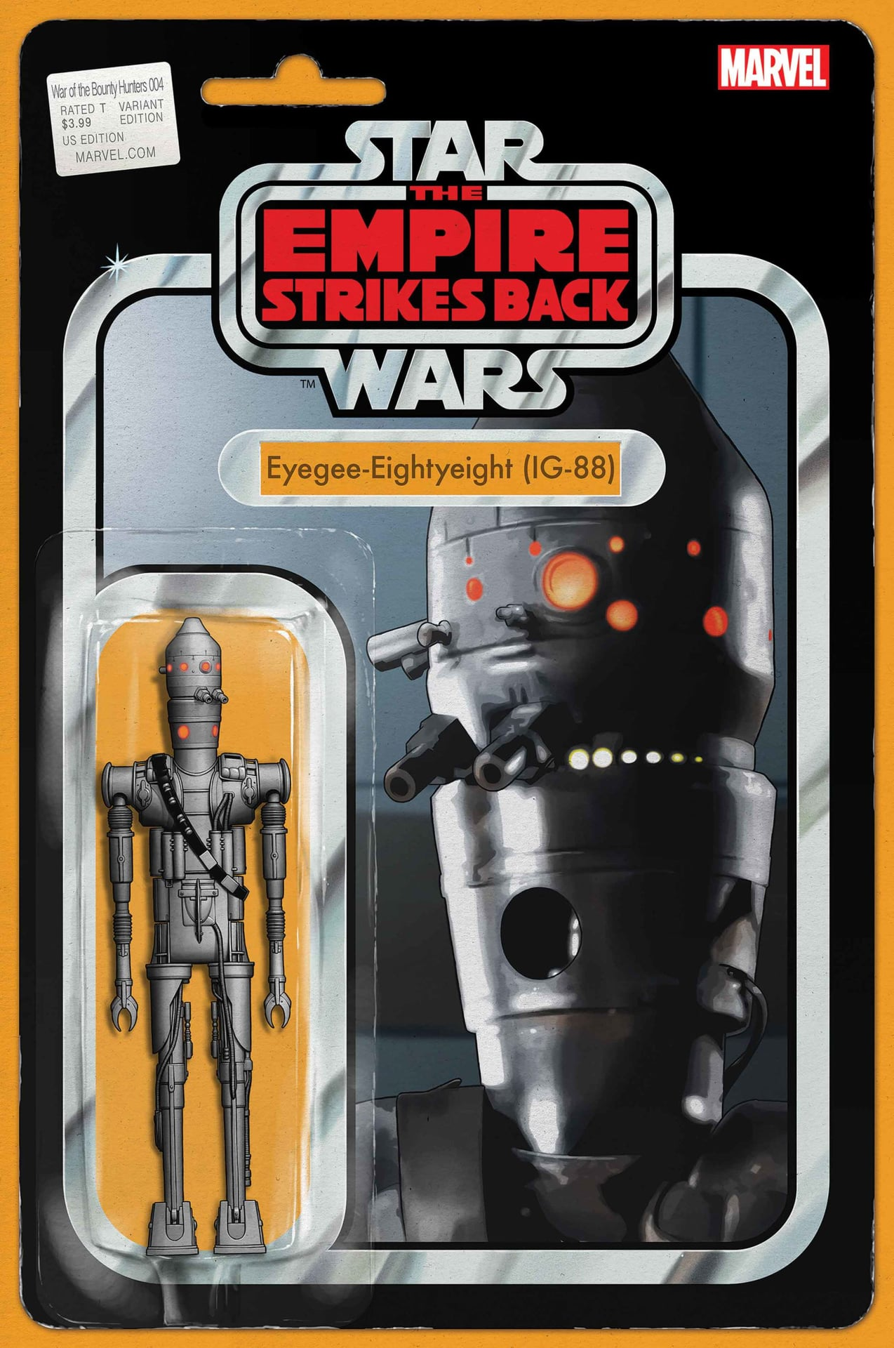 Star Wars: War of the Bounty Hunters 4 - Action Figure Variant