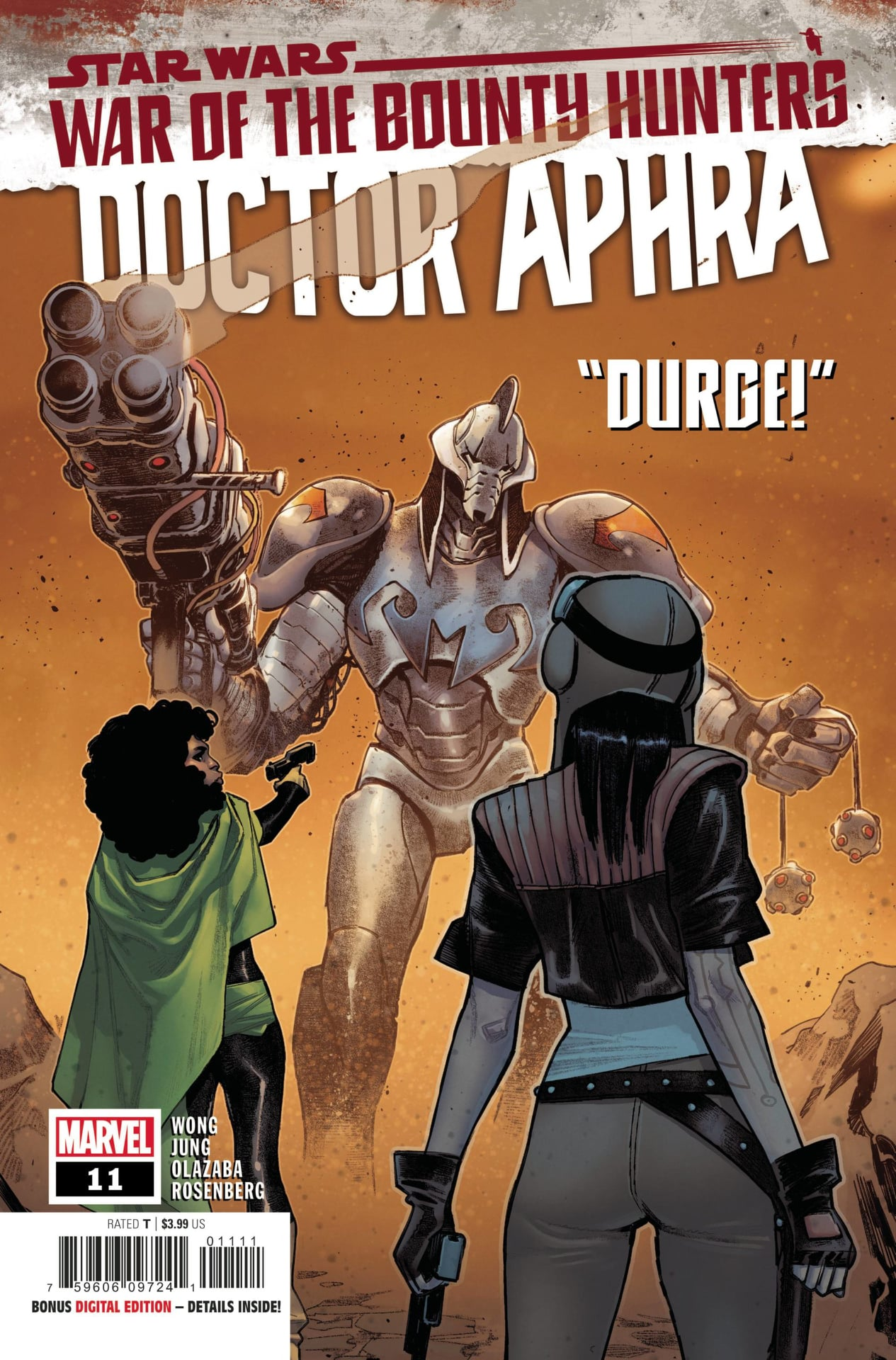 Star Wars Doctor Aphra: War of the Bounty Hunters