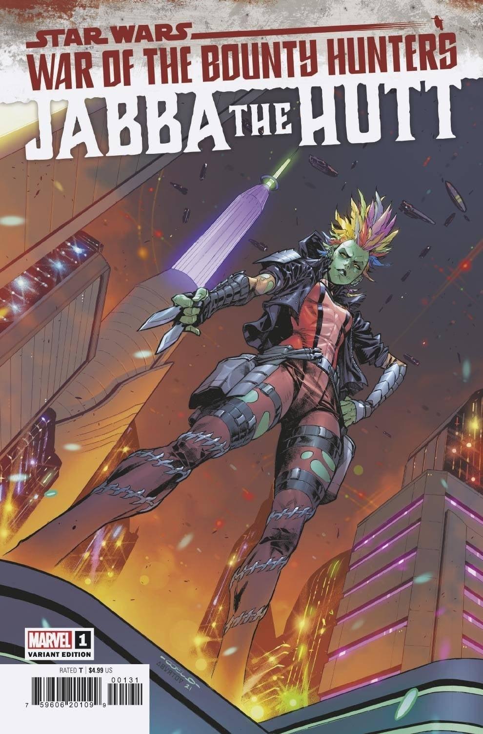 Star Wars War of the Bounty Hunters: Jabba the Hutt - Coello Variant