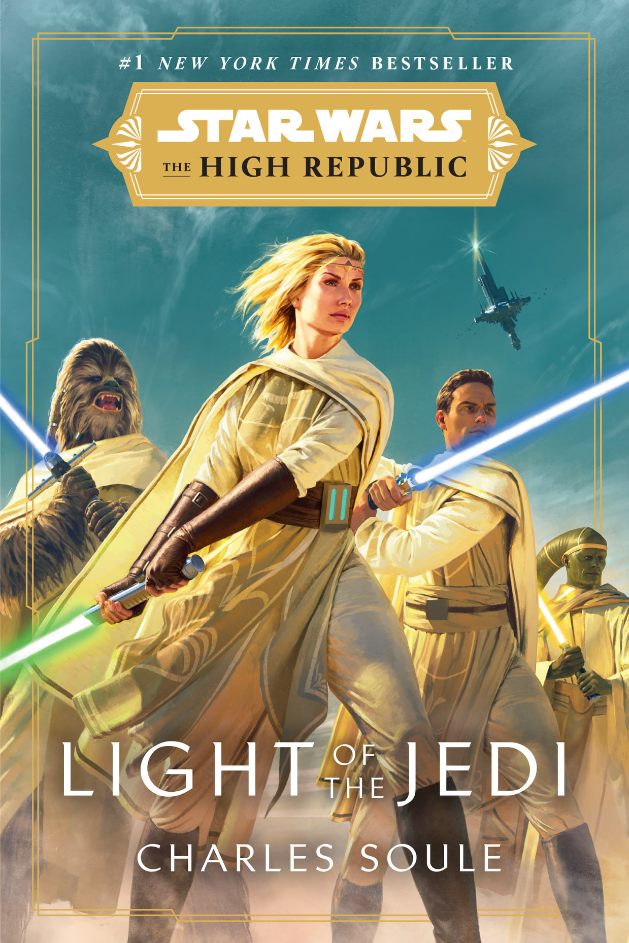 Star Wars The High Republic: Light of the Jedi (paperback)