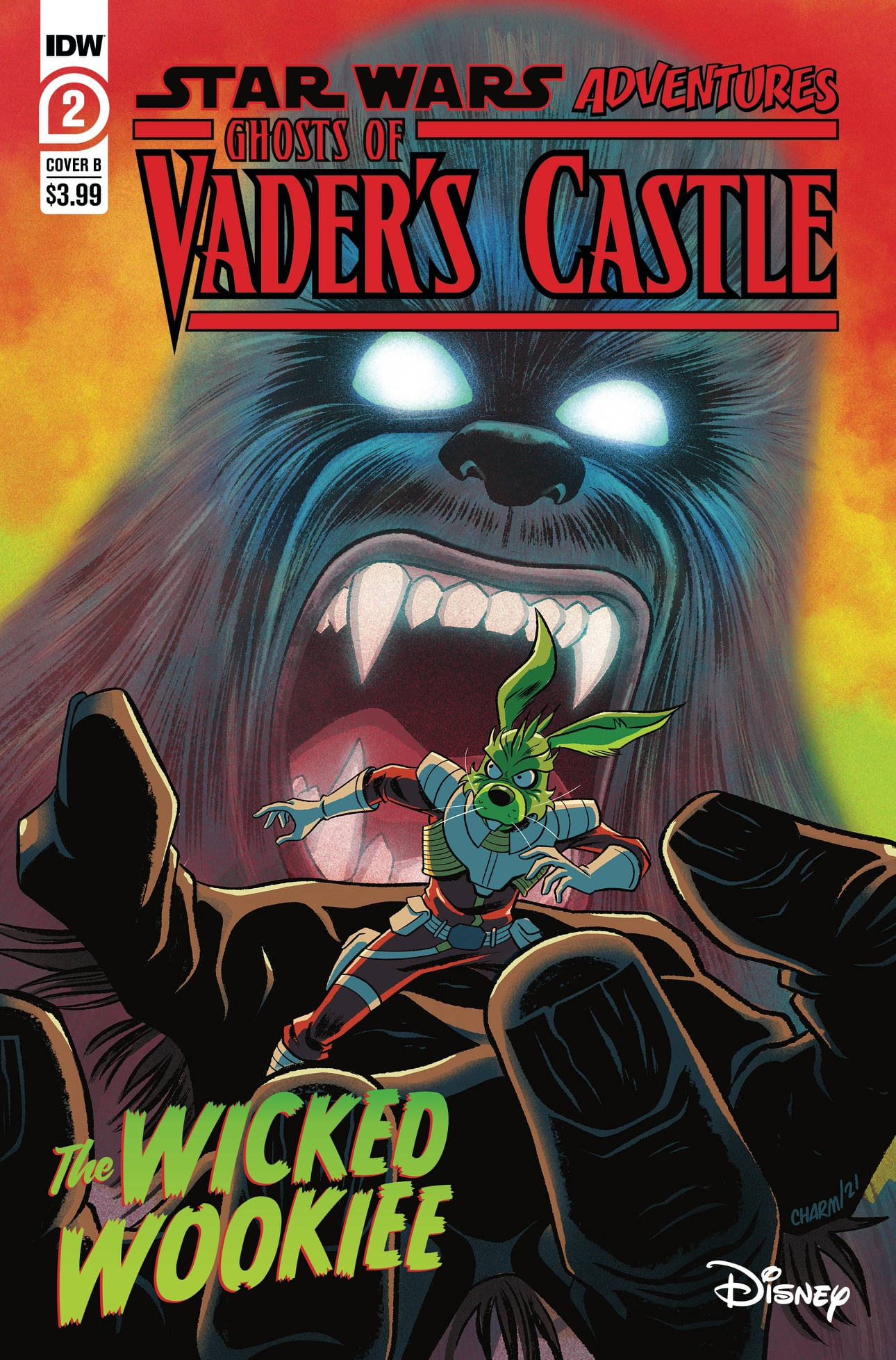 Star Wars Adventures: Ghosts of Vader's Castle 2 - Cover B