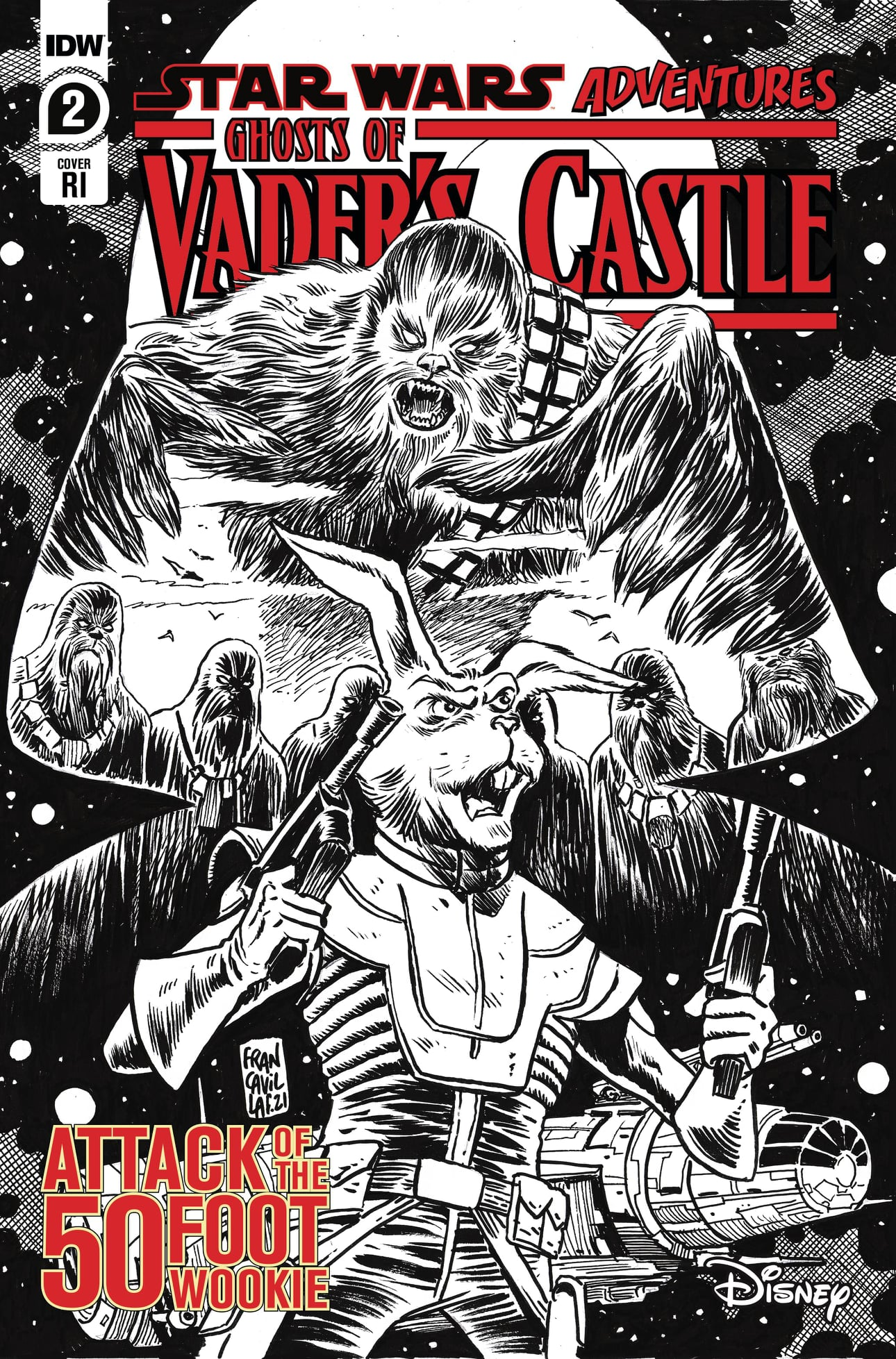 Star Wars Adventures: Ghosts of Vader's Castle 2 - RI Cover