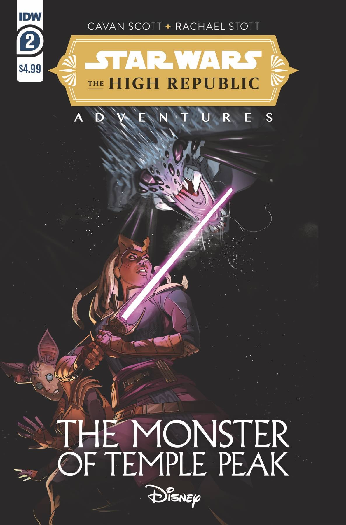 Star Wars The High Republic Adventures: The Monster of Temple Peak 2