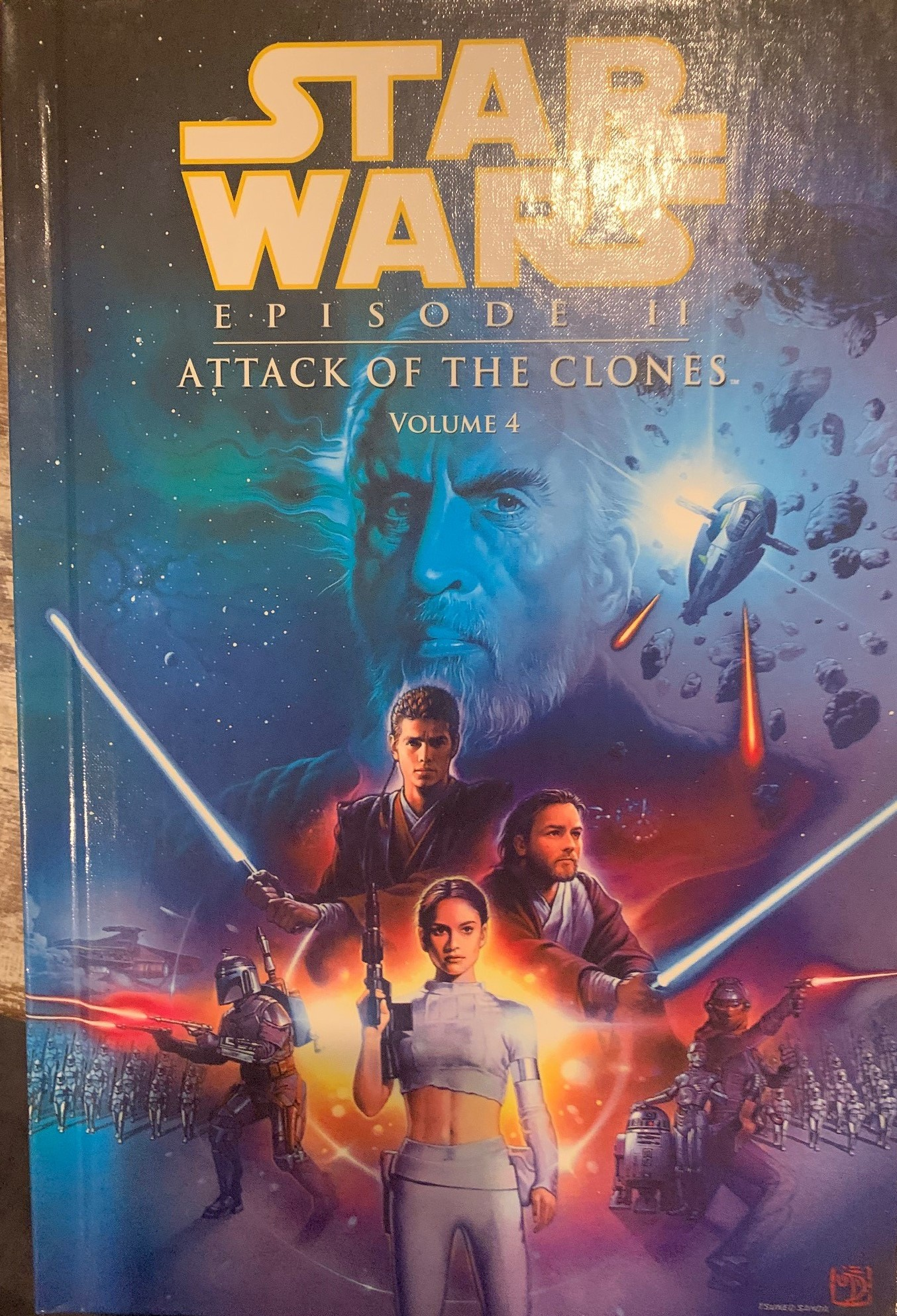 Star Wars Episode II: Attack of the Clones (Spotlight Comic Edition, Volume 4)