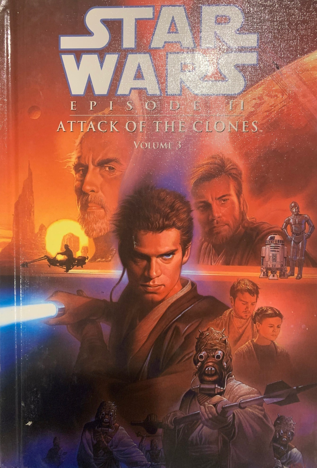 Star Wars Episode II: Attack of the Clones (Spotlight Comic Edition, Volume 3)