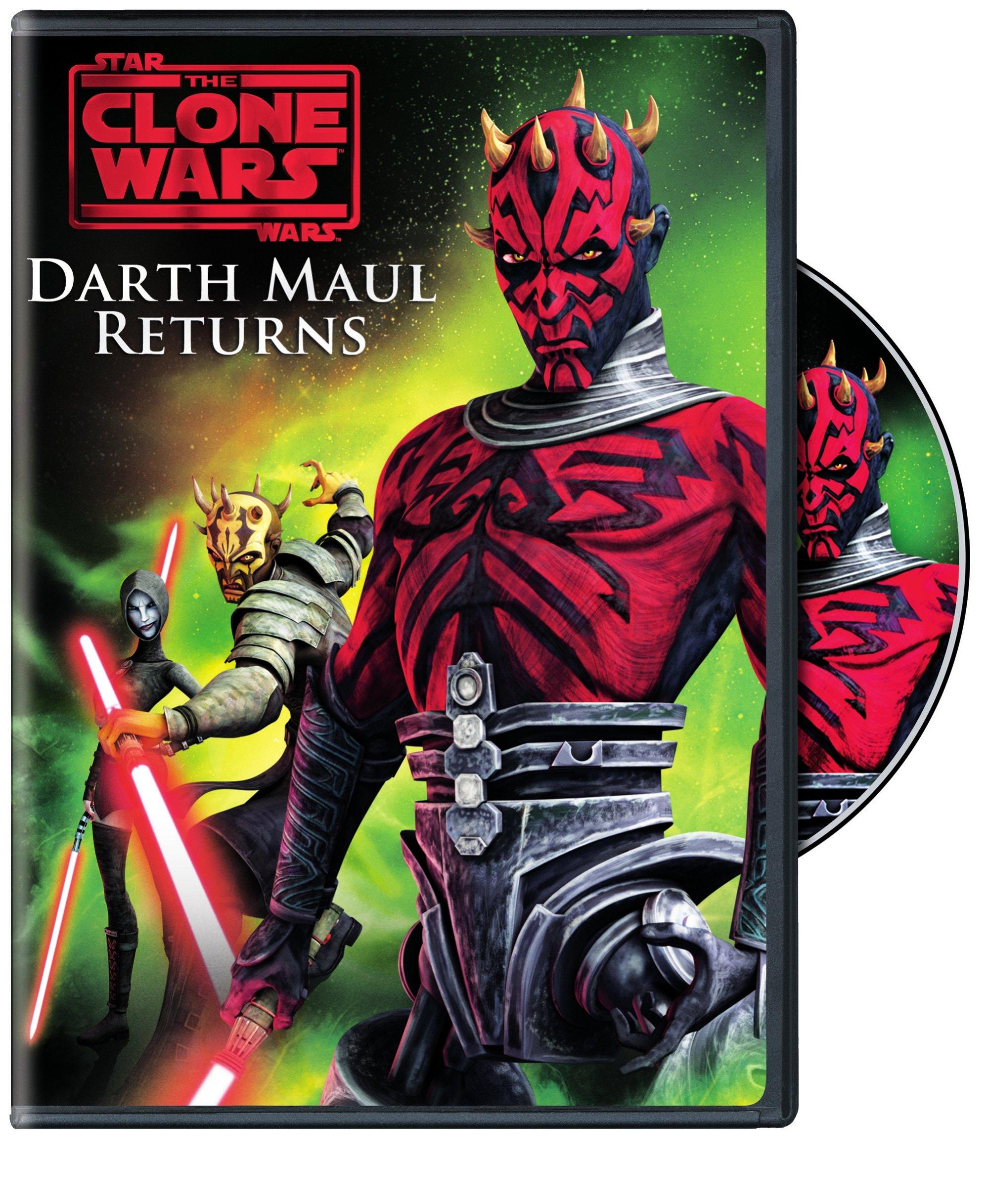 Star Wars The Clone Wars: Darth Maul Returns DVD
