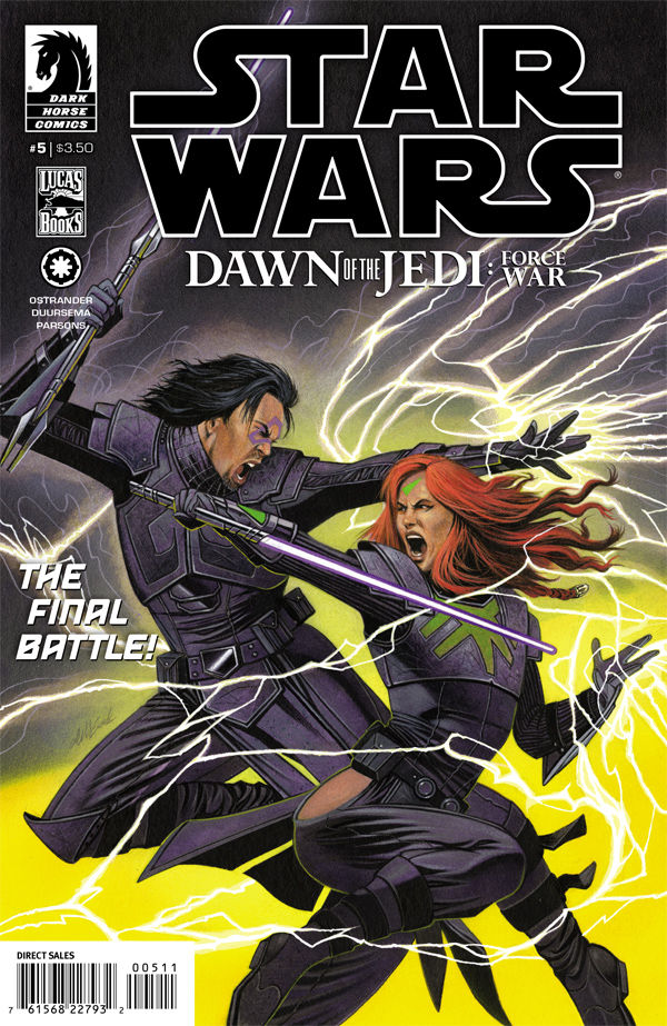 Star Wars Dawn of the Jedi: Force War 5