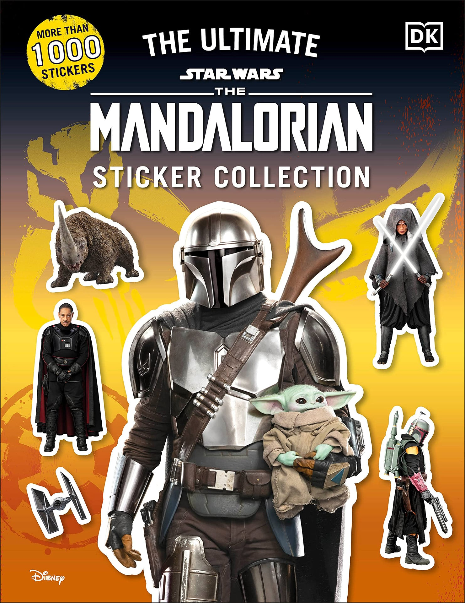 The Ultimate Star Wars: The Mandalorian Sticker Collection