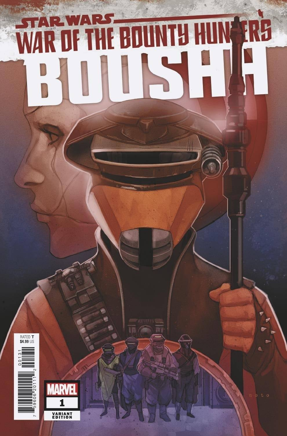Star Wars War of the Bounty Hunters: Boushh - Noto Variant