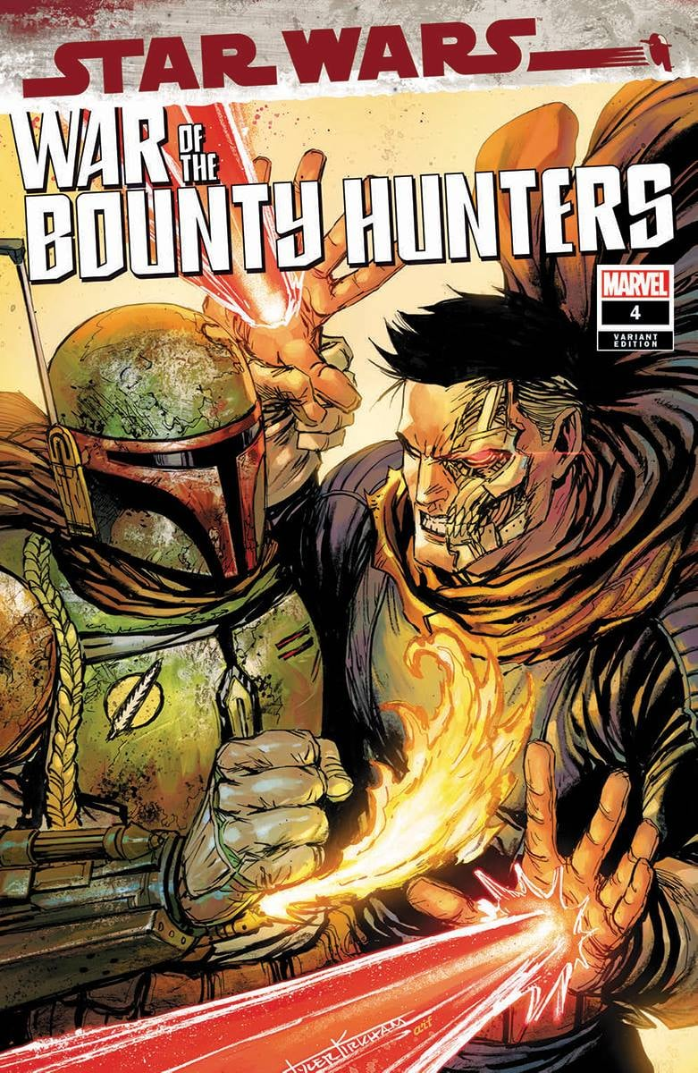 Star Wars: War of the Bounty Hunters 4 - Unknown Comics Variant