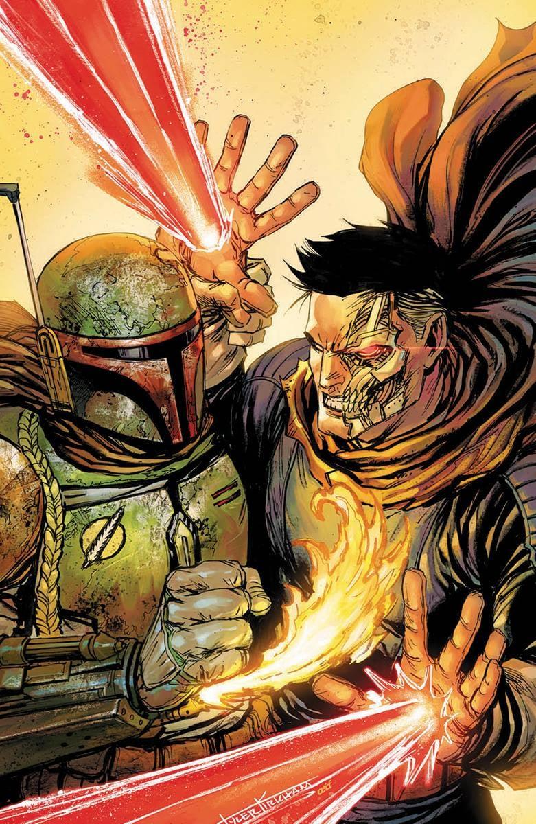 Star Wars: War of the Bounty Hunters 4 - Unknown Comics Virgin Variant