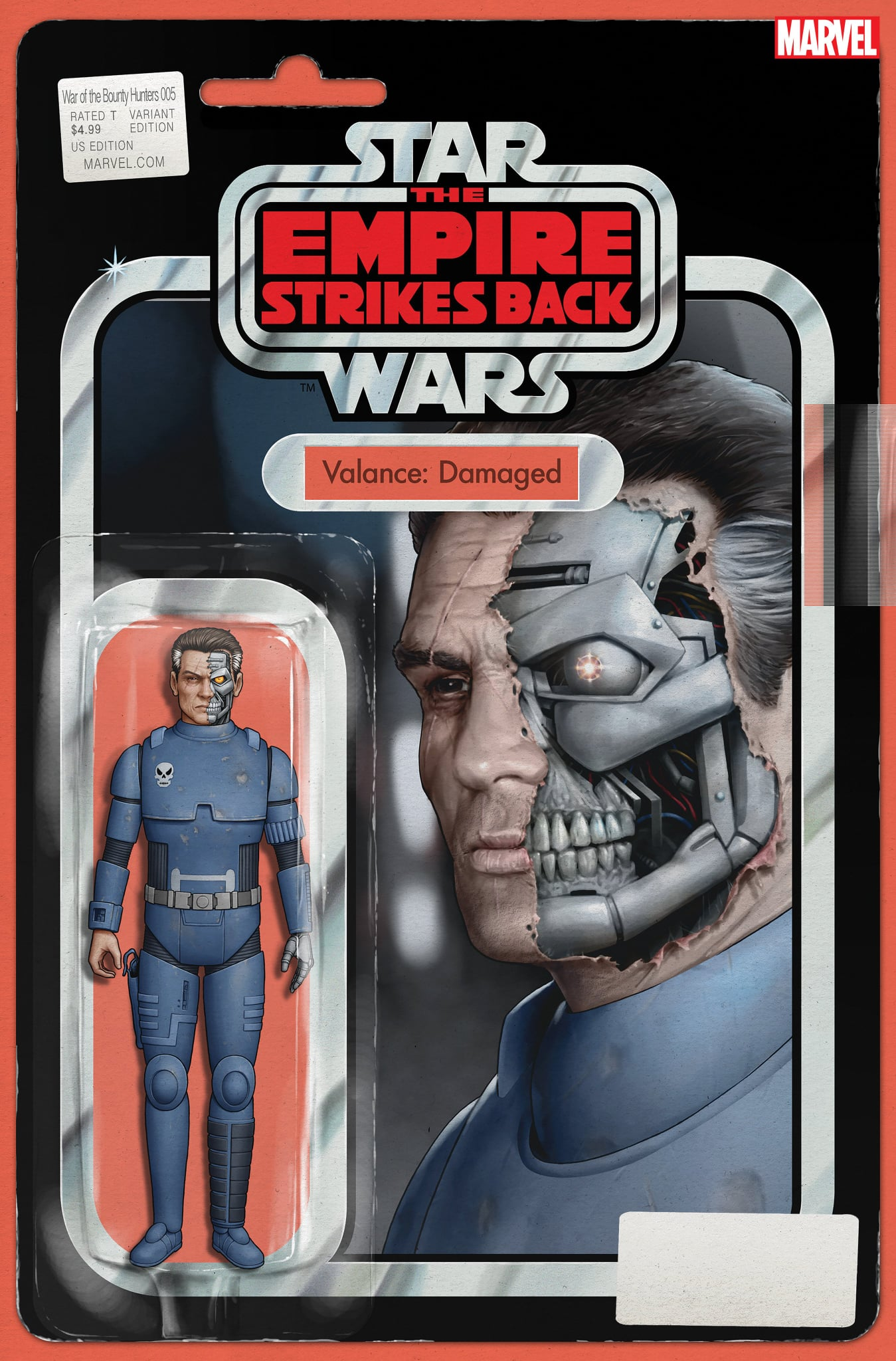Star Wars: War of the Bounty Hunters 5 - Action Figure Variant