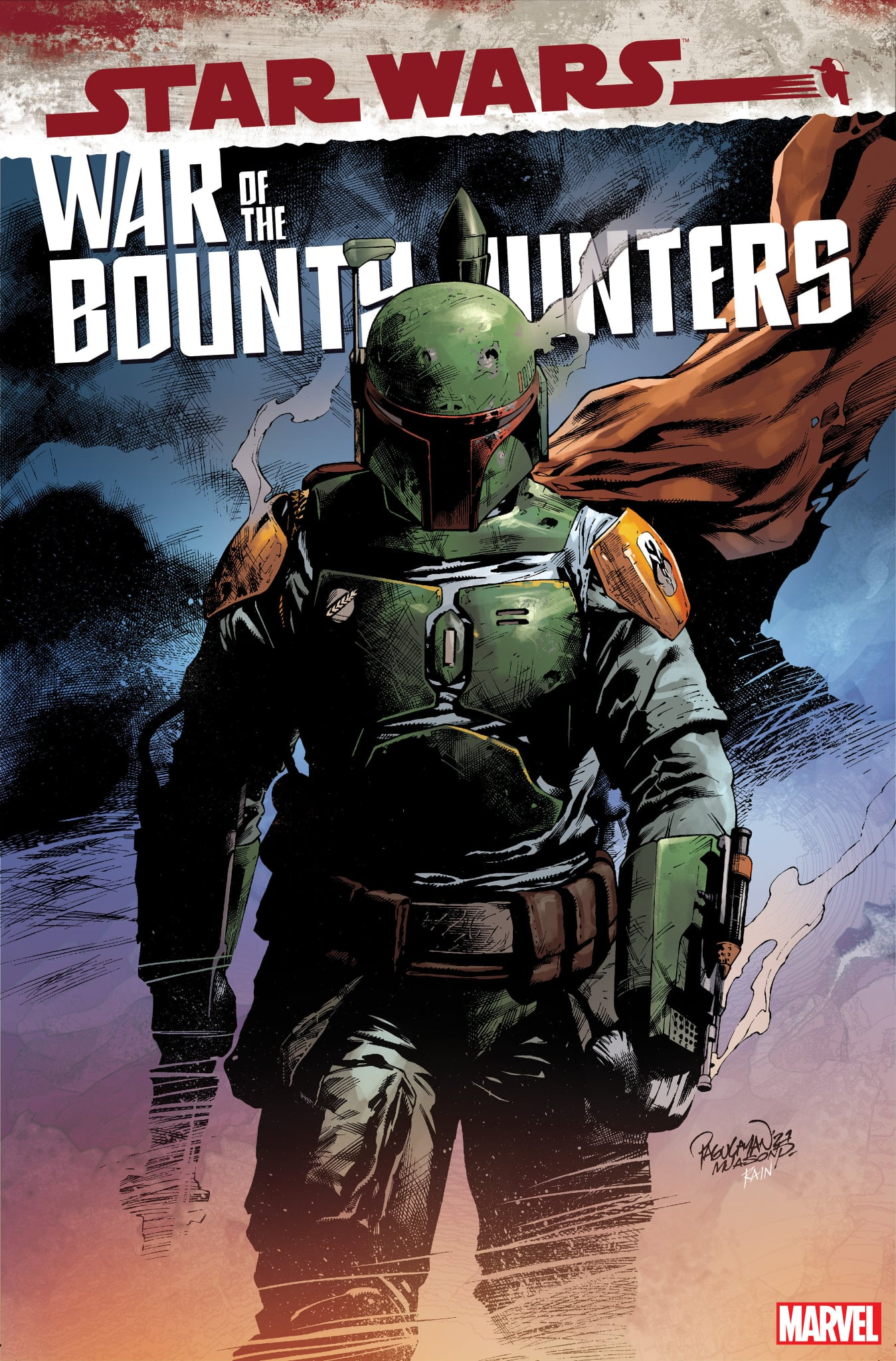 Star Wars: War of the Bounty Hunters 5 - Pagulayan Variant
