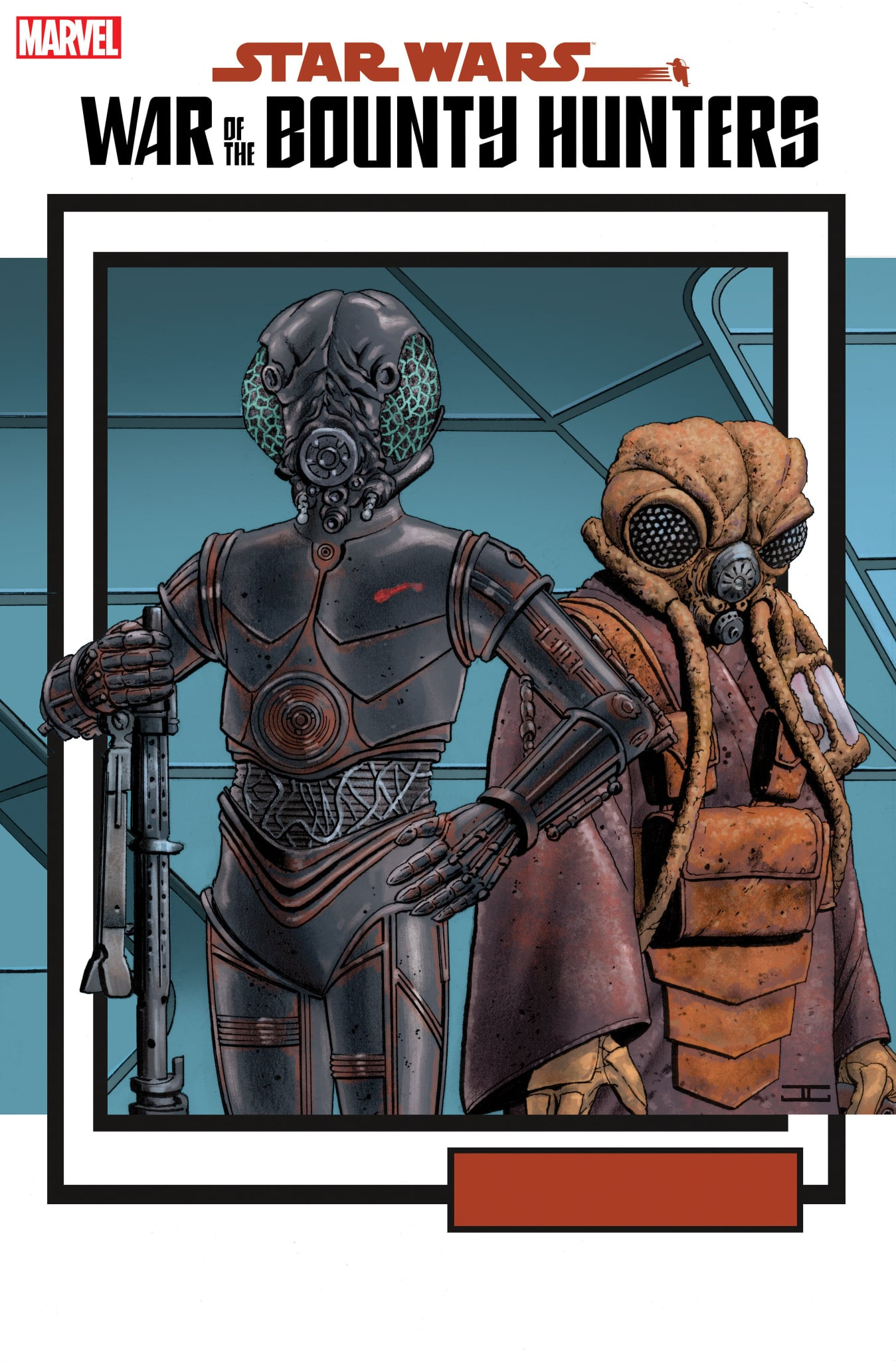 Star Wars: War of the Bounty Hunters 5 - Cassaday Variant