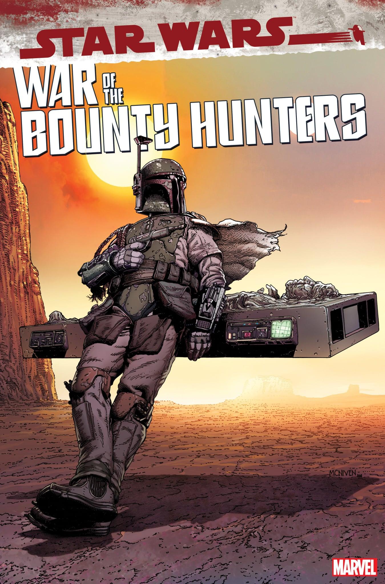 Star Wars: War of the Bounty Hunters 5 - Boba Variant