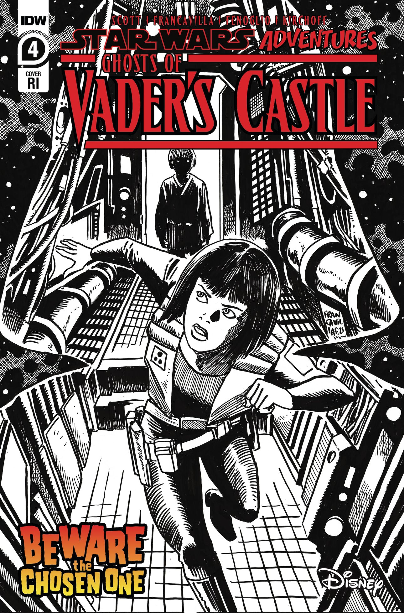 Star Wars Adventures: Ghosts of Vader's Castle 4 - Retail Incentive Cover