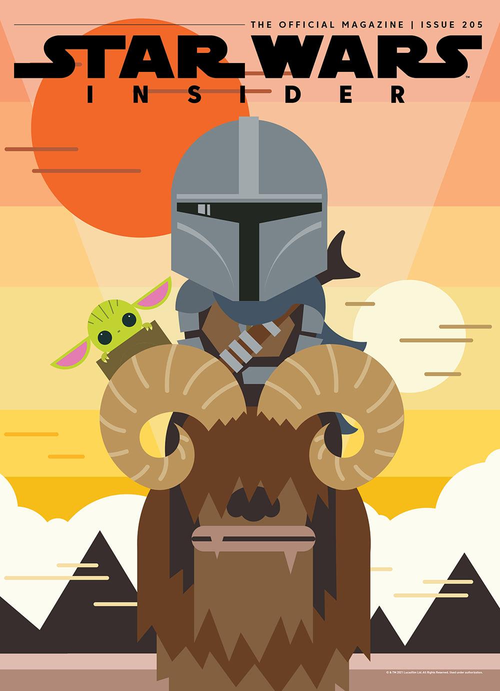 Star Wars Insider 205 - Forbidden Planet Cover