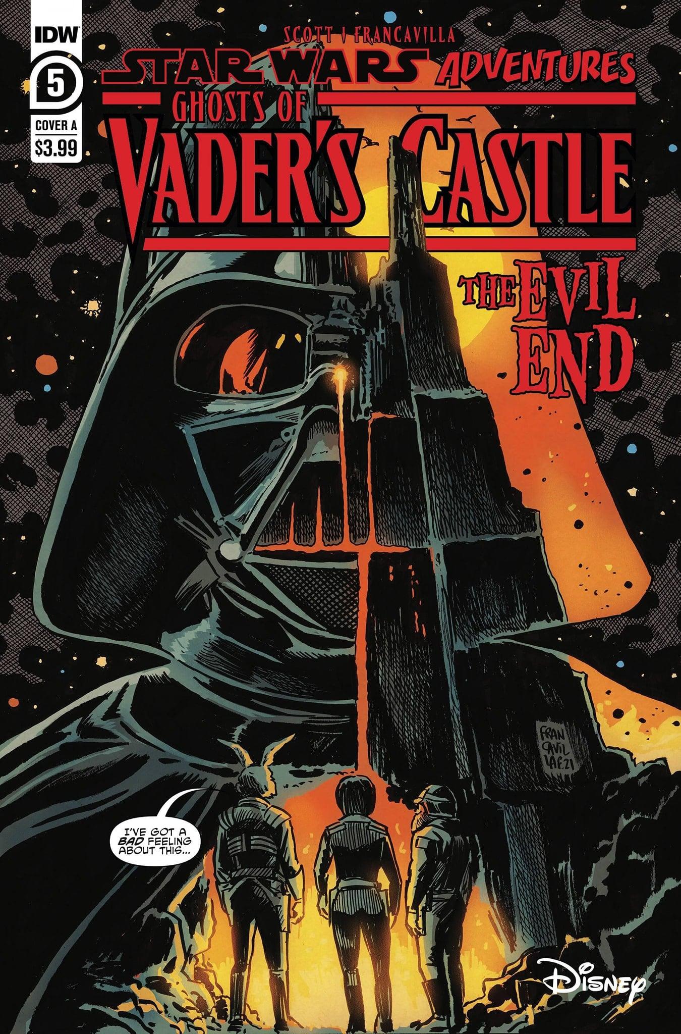 Star Wars Adventures: Ghosts of Vader's Castle 5
