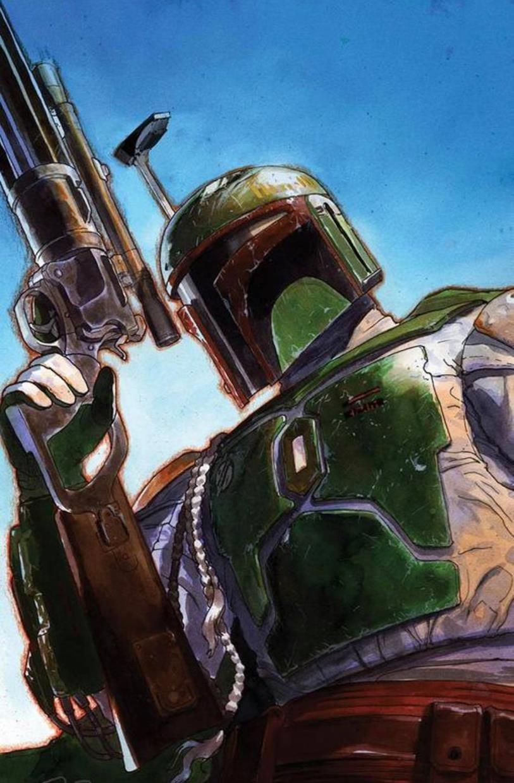 Star Wars: War of the Bounty Hunters 5 - Unknown Comics Virgin Variant