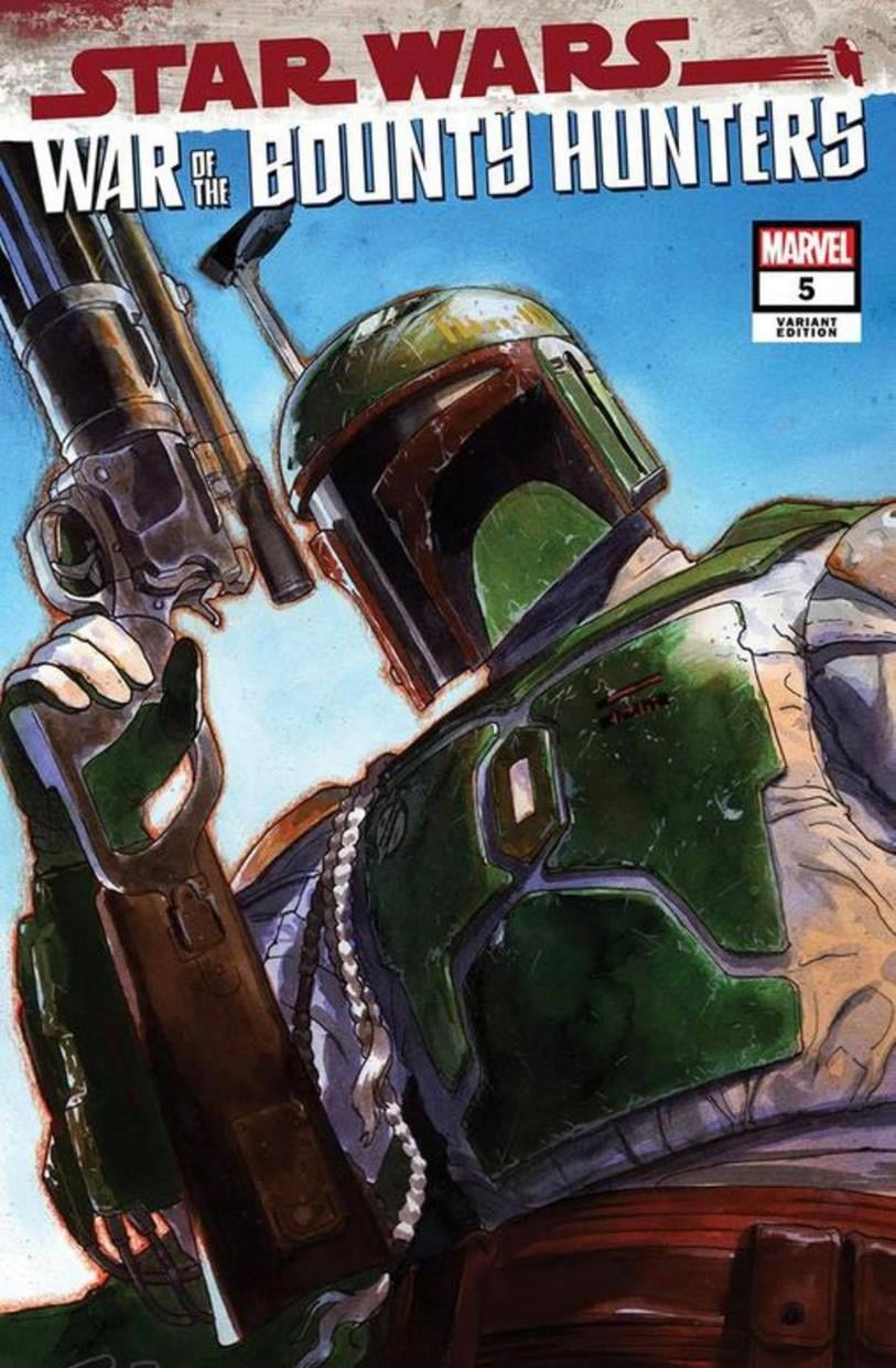 Star Wars: War of the Bounty Hunters 5 - Unknown Comics Variant