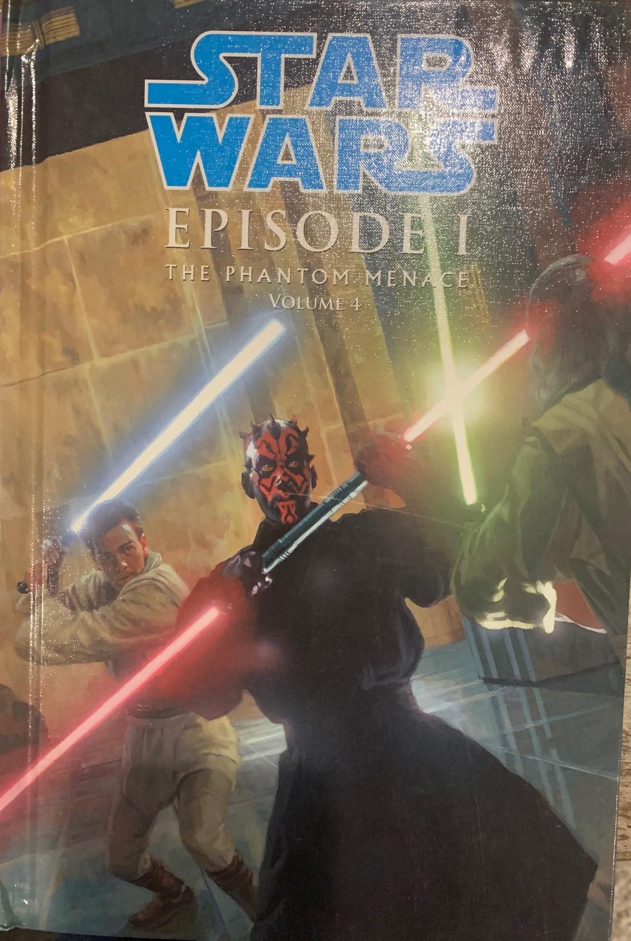 Star Wars Episode I: The Phantom Menace (Spotlight Comic Edition, Volume 4)