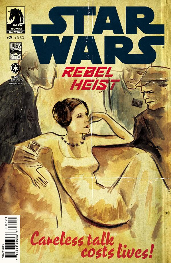 Star Wars Rebel Heist 2 (Variant Cover)
