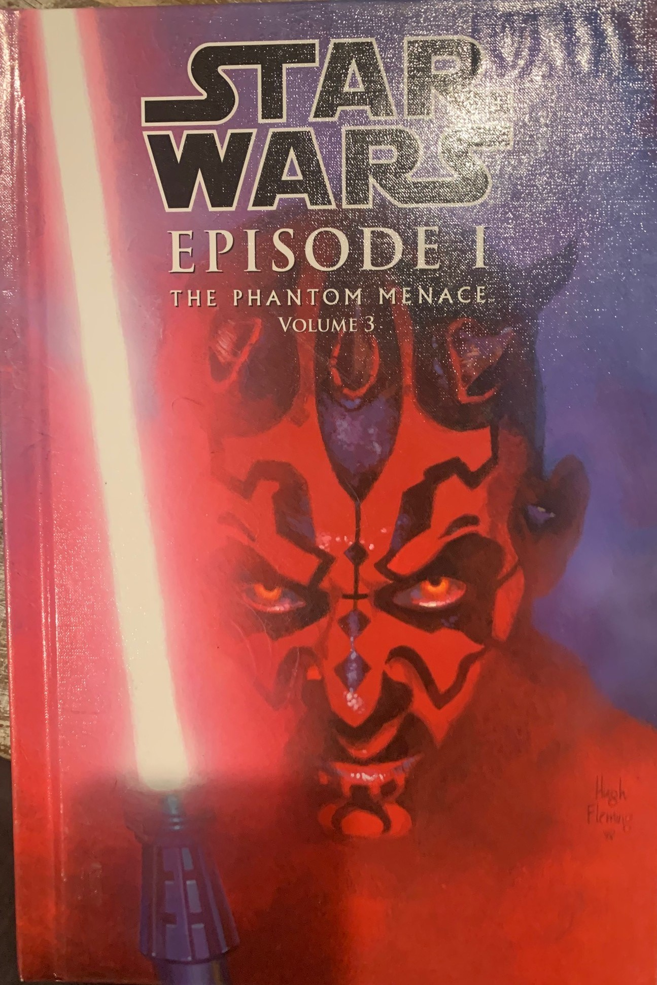 Star Wars Episode I: The Phantom Menace (Spotlight Comic Edition, Volume 3)